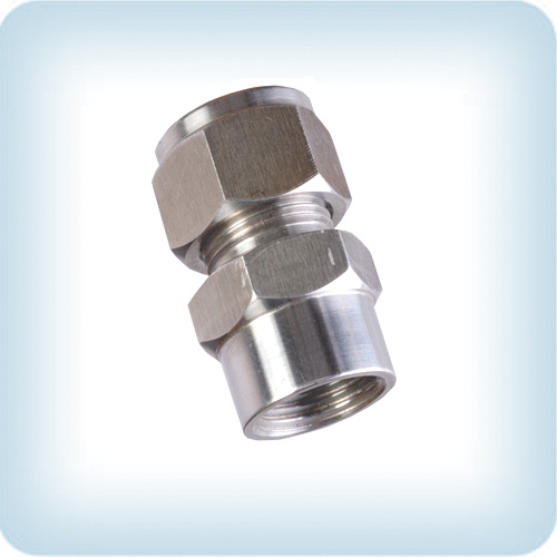 Stainless Steel Compression Female Connectors Indofix